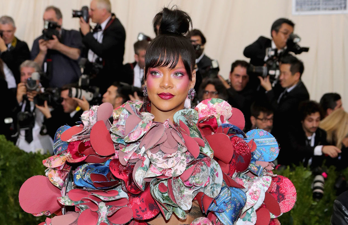 Rihanna Is Co-Hosting The 2018 Met Gala With Donatella and Amal