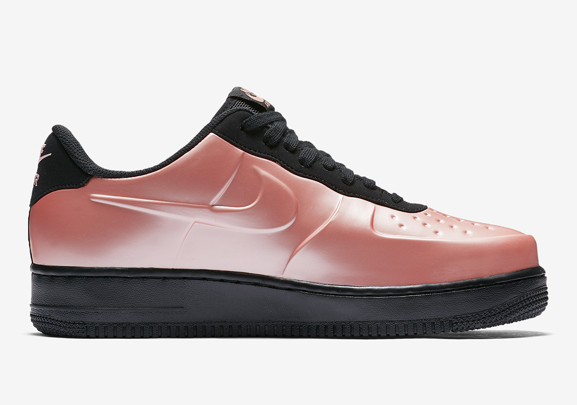 The Nike Air Force 1 Low Foamposite Gets A Coral Glow-Up