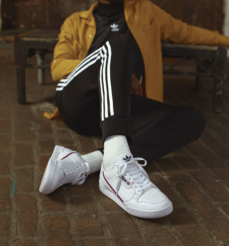adidas continental 80 outfit