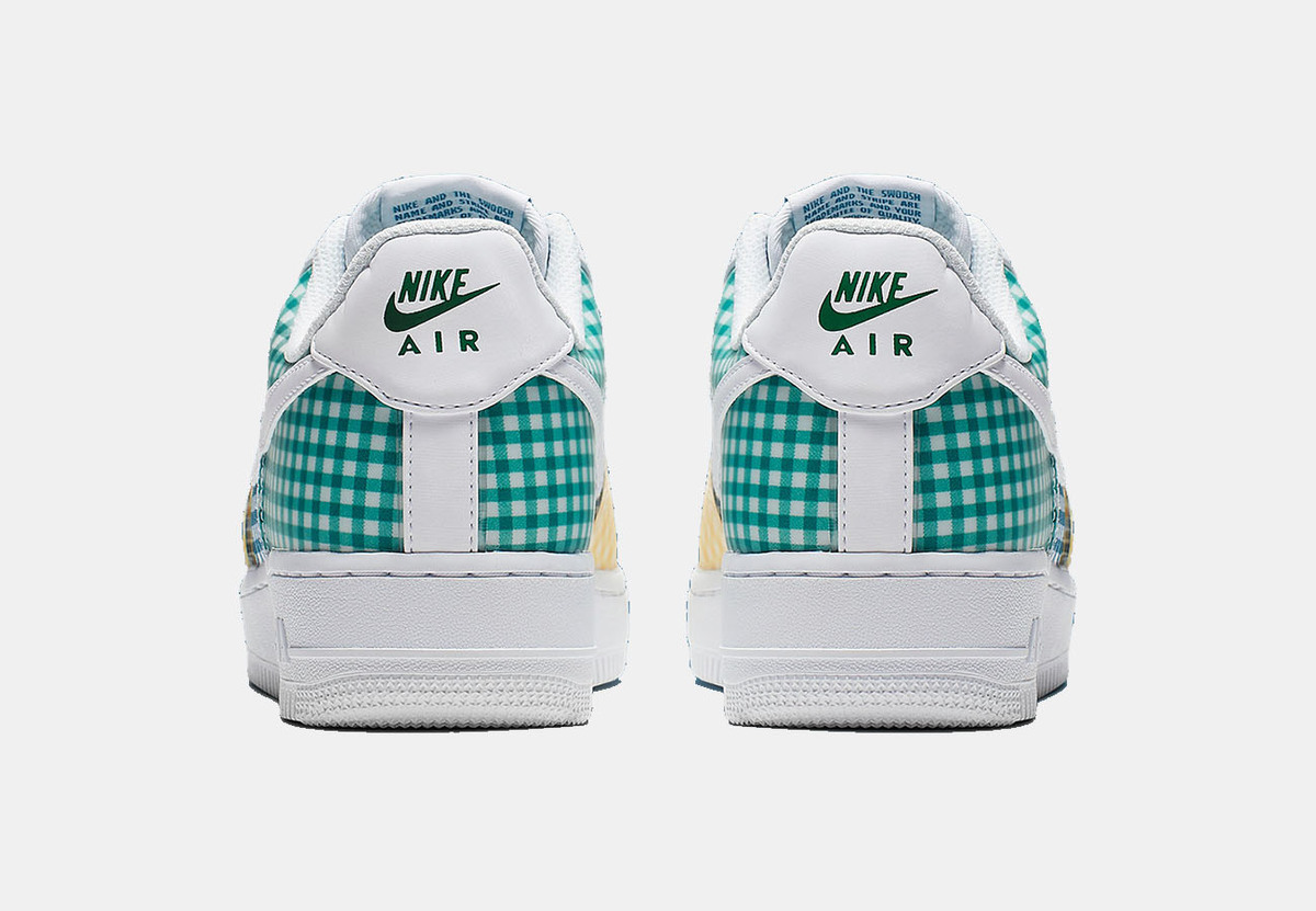 The Nike Air Force 1 Low Arrives In Gingham Pattern