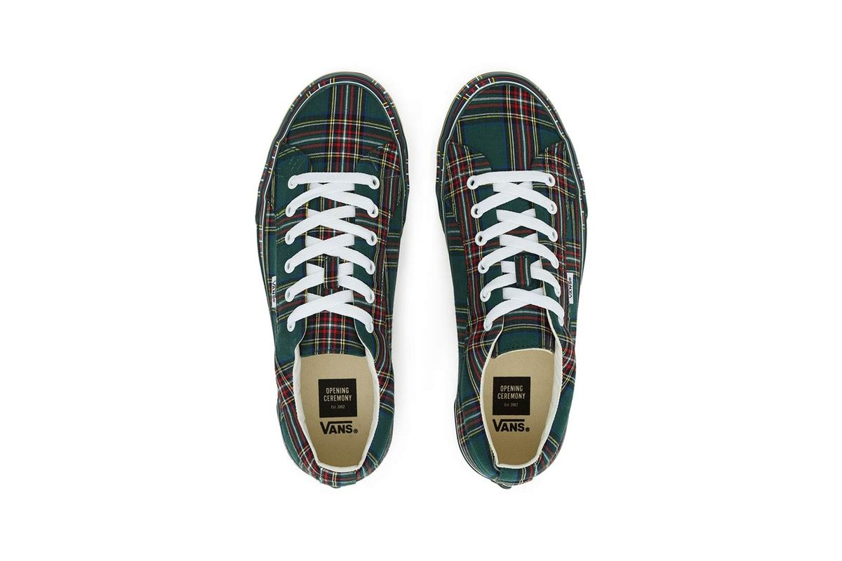 Skate Back In Time With Opening Ceremony X Vans' '90s Plaid Pack
