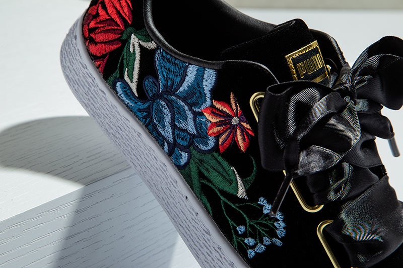 Embroidery Is Cool. Case In Point: PUMA's Intricate Hyper Sneakers