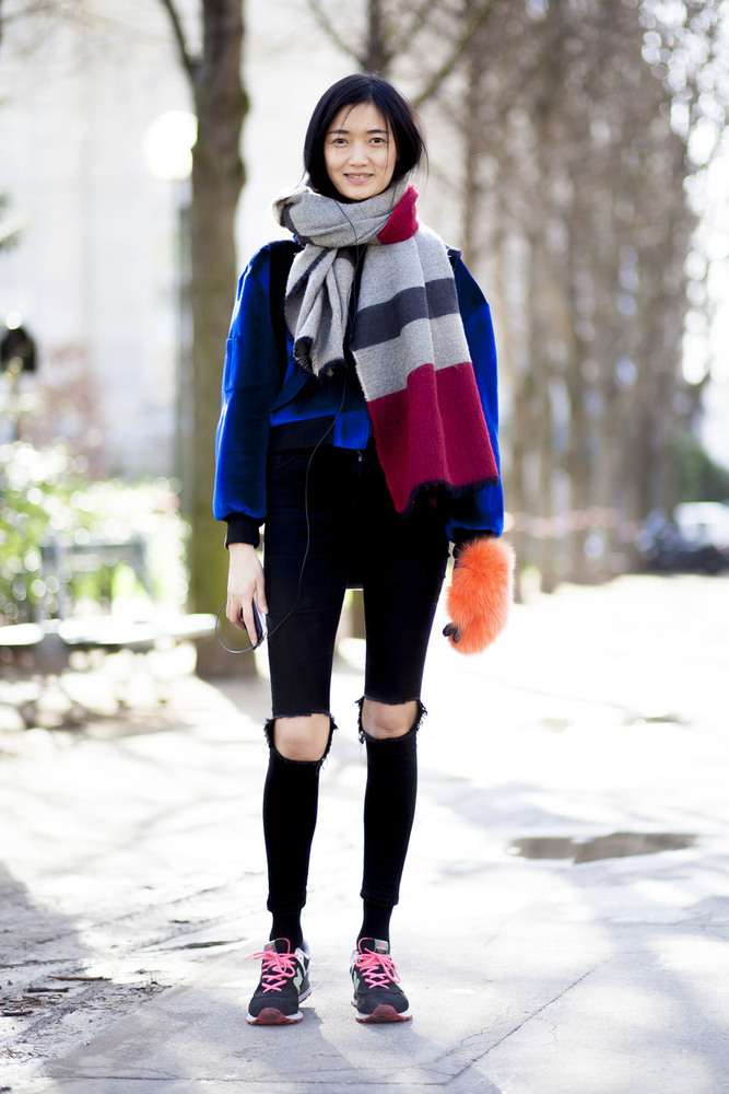 Paris fashion week streetstyle 043