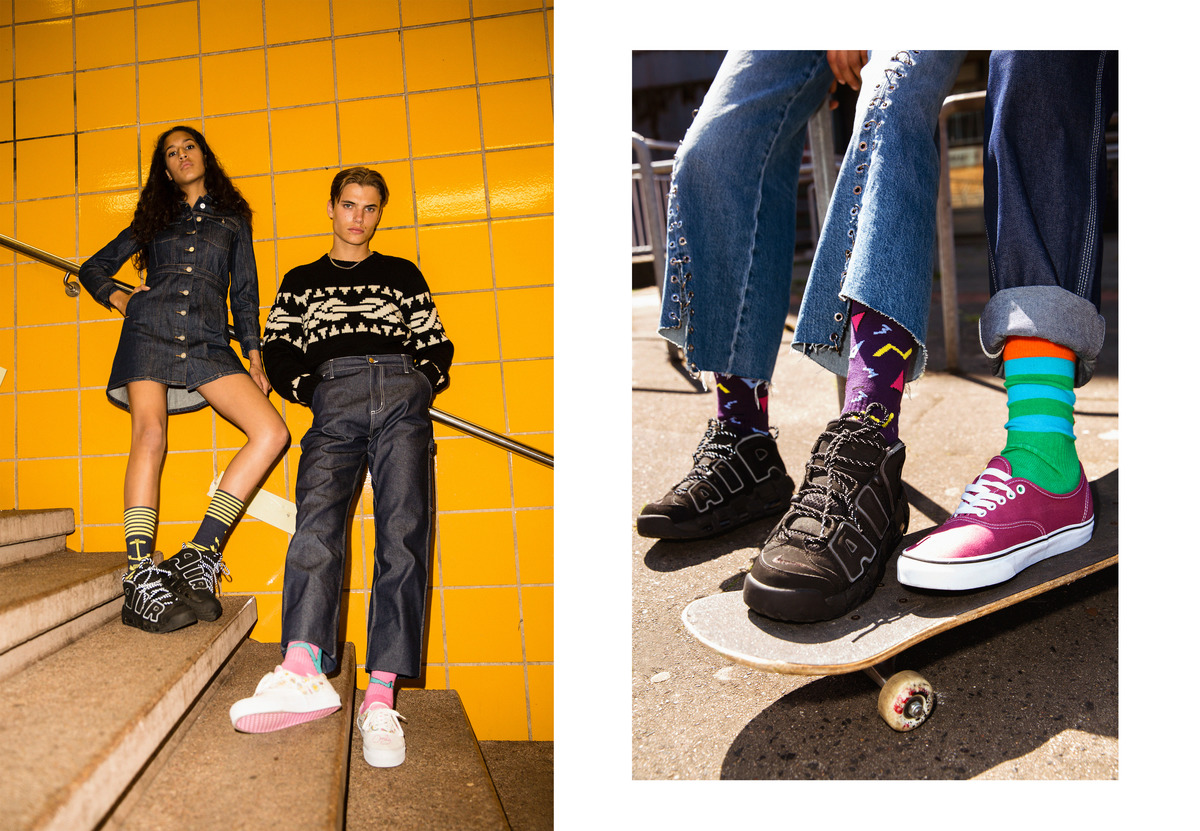 One Hell Of A Stank For Stinky Socks Lookbook