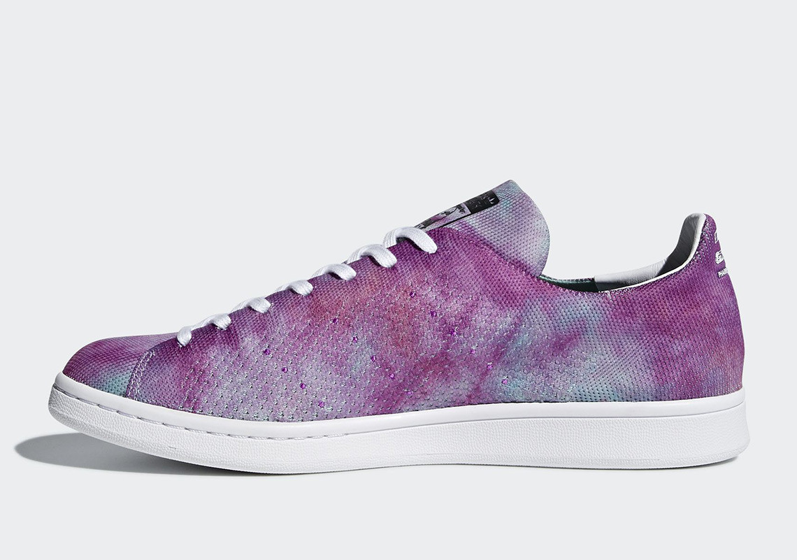 Pharrell Brings A Splash Of 'Holi' Color To Adidas' Stan Smith