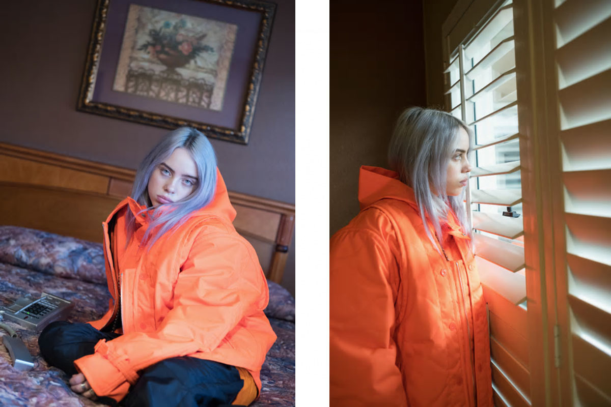 Rising Star Billie Eilish Is Unapologetically Herself In SSENSE Editorial