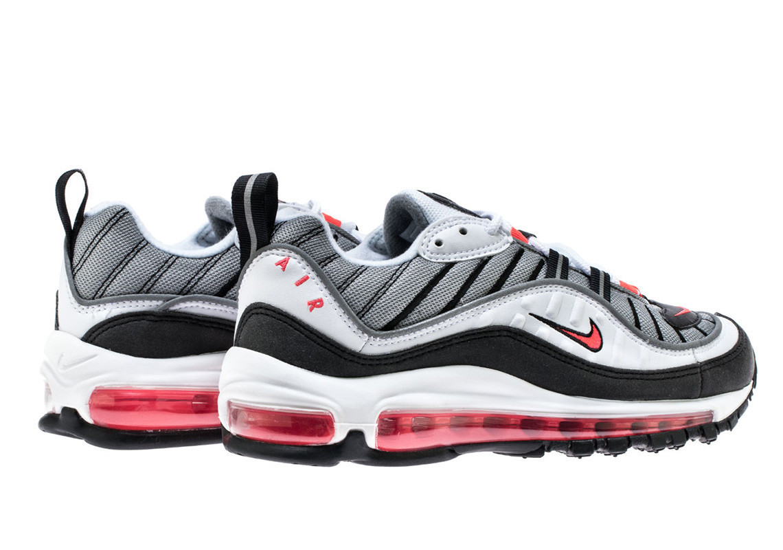 Power Up Your Collection With The Nike Air Max 98 'Solar Red'