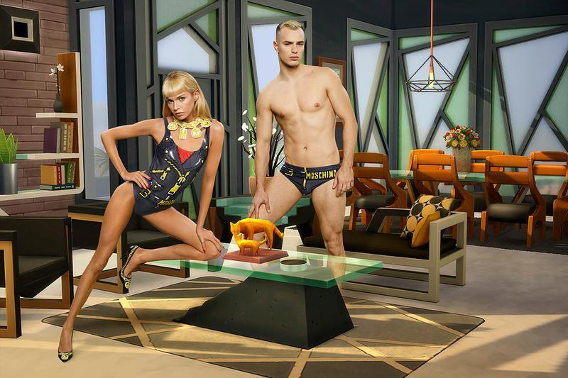 Moschino Has Teamed Up With The Sims For An IRL Collection
