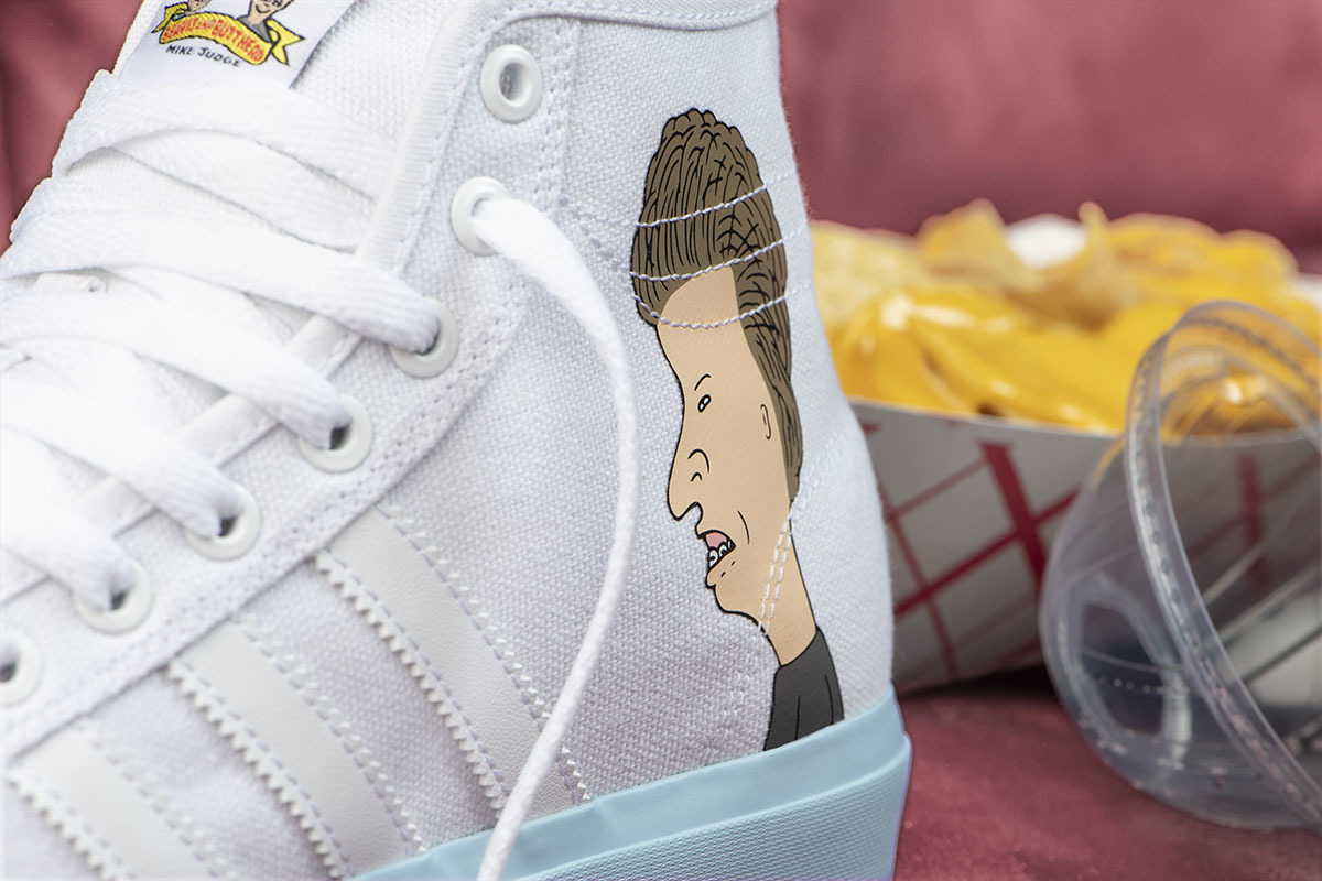 Adidas Skateboarding Goes Beavis And Butt-Head