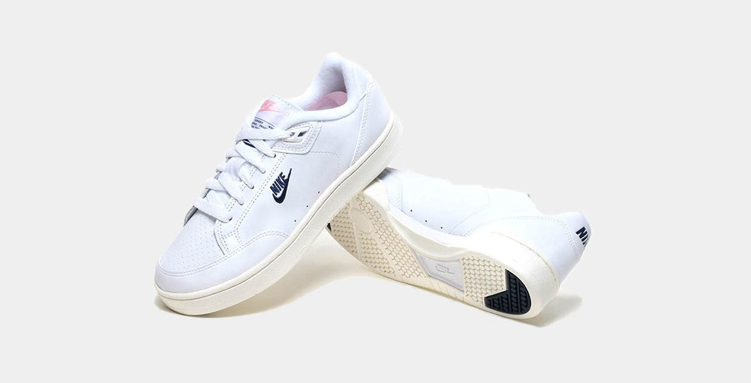 Nike grandstand ii particle rose white navy1