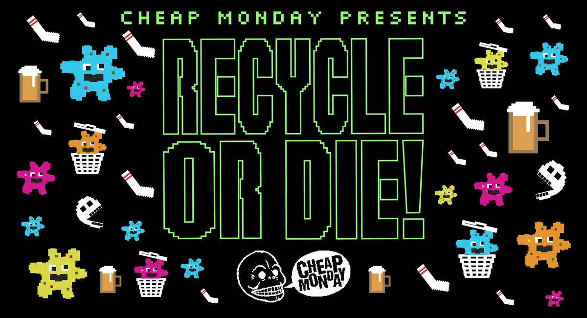 Cheap Monday Launches Recycle Or Die – A Retro Game About The Importance Of Recycling