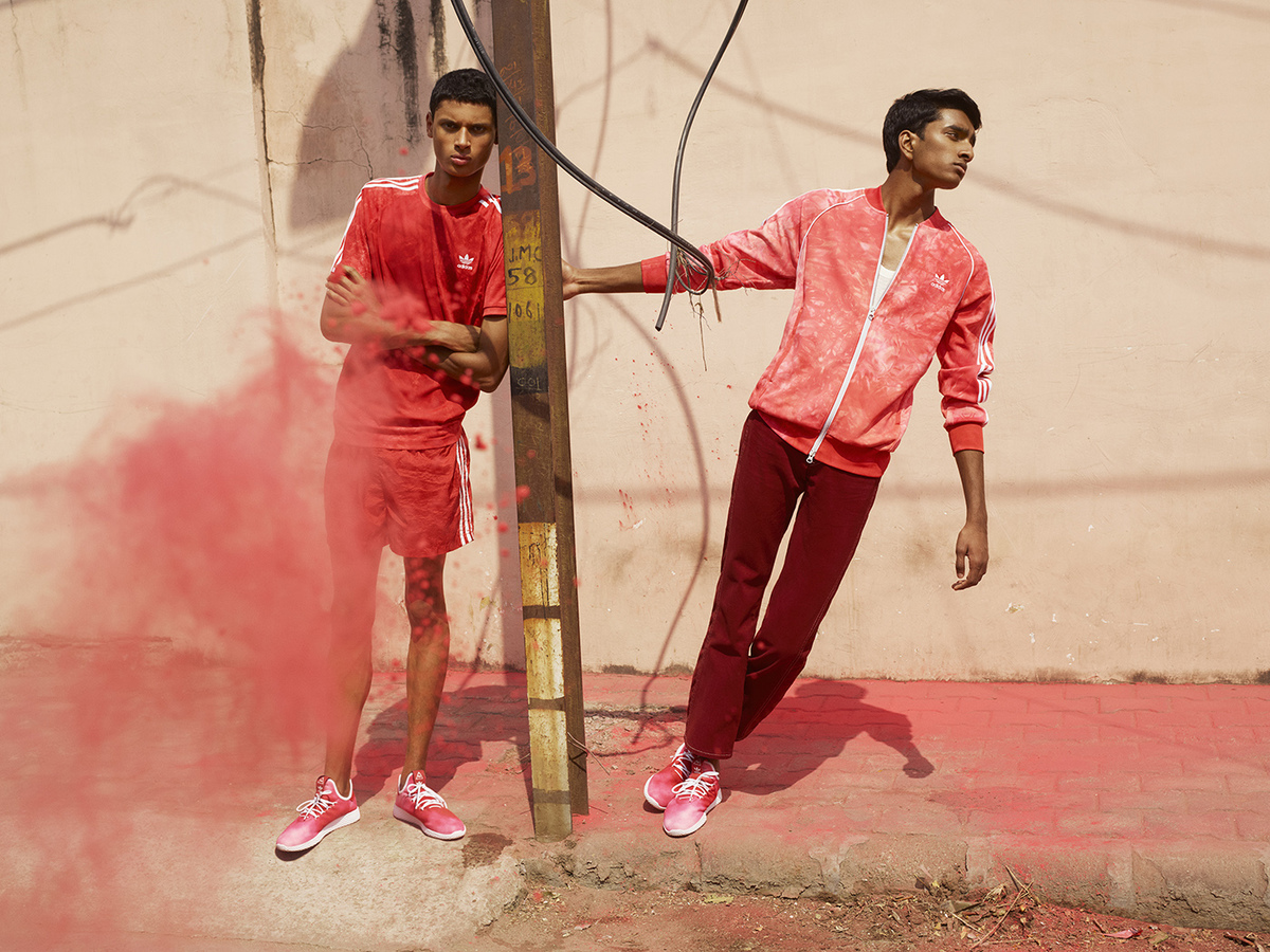 Pharrell Goes Adicolor For Final Part Of Hu Holi Collection