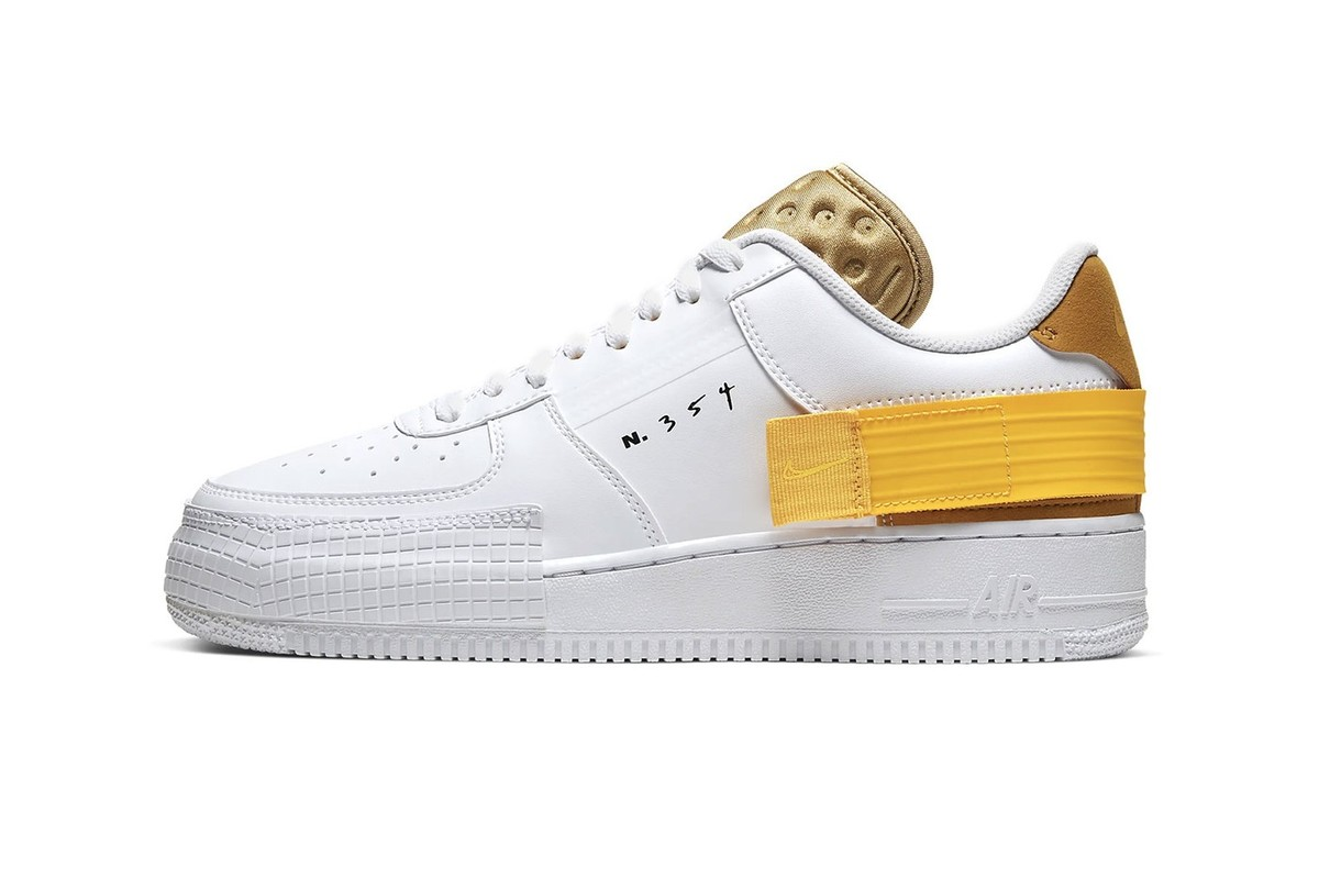 Brighten Your Winter Wardrobe With The New Air Force 1 Type