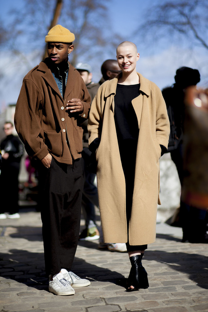 Paris fashion week streetstyle 049