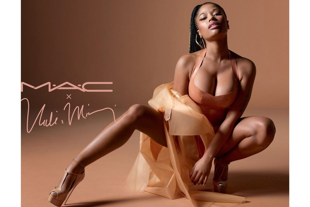 Take A Look At The New Nicki Minaj X MAC Nude Lipsticks