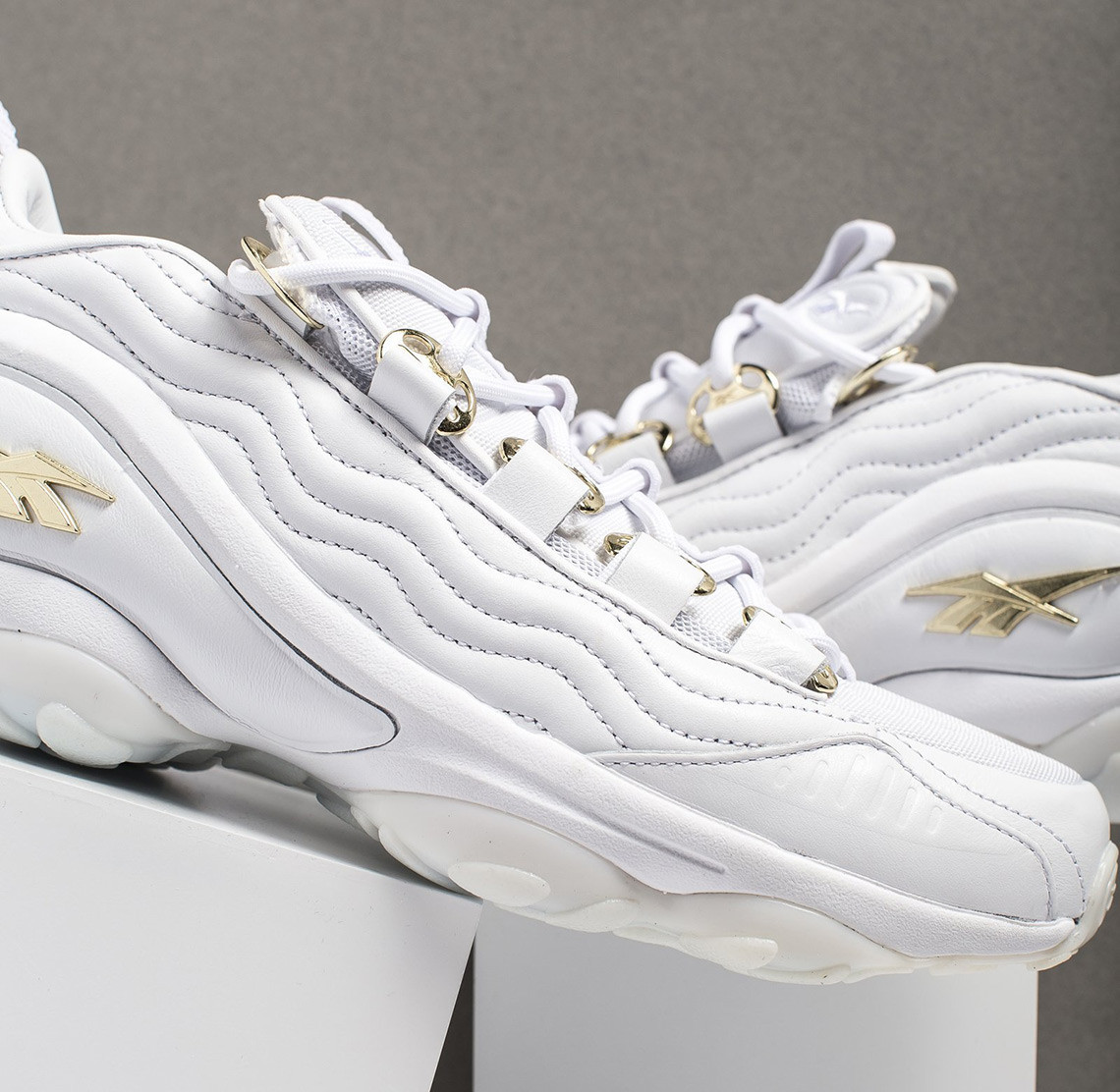 Reebok Upguns Its DMX Run 10 With Gold Metal Hardware