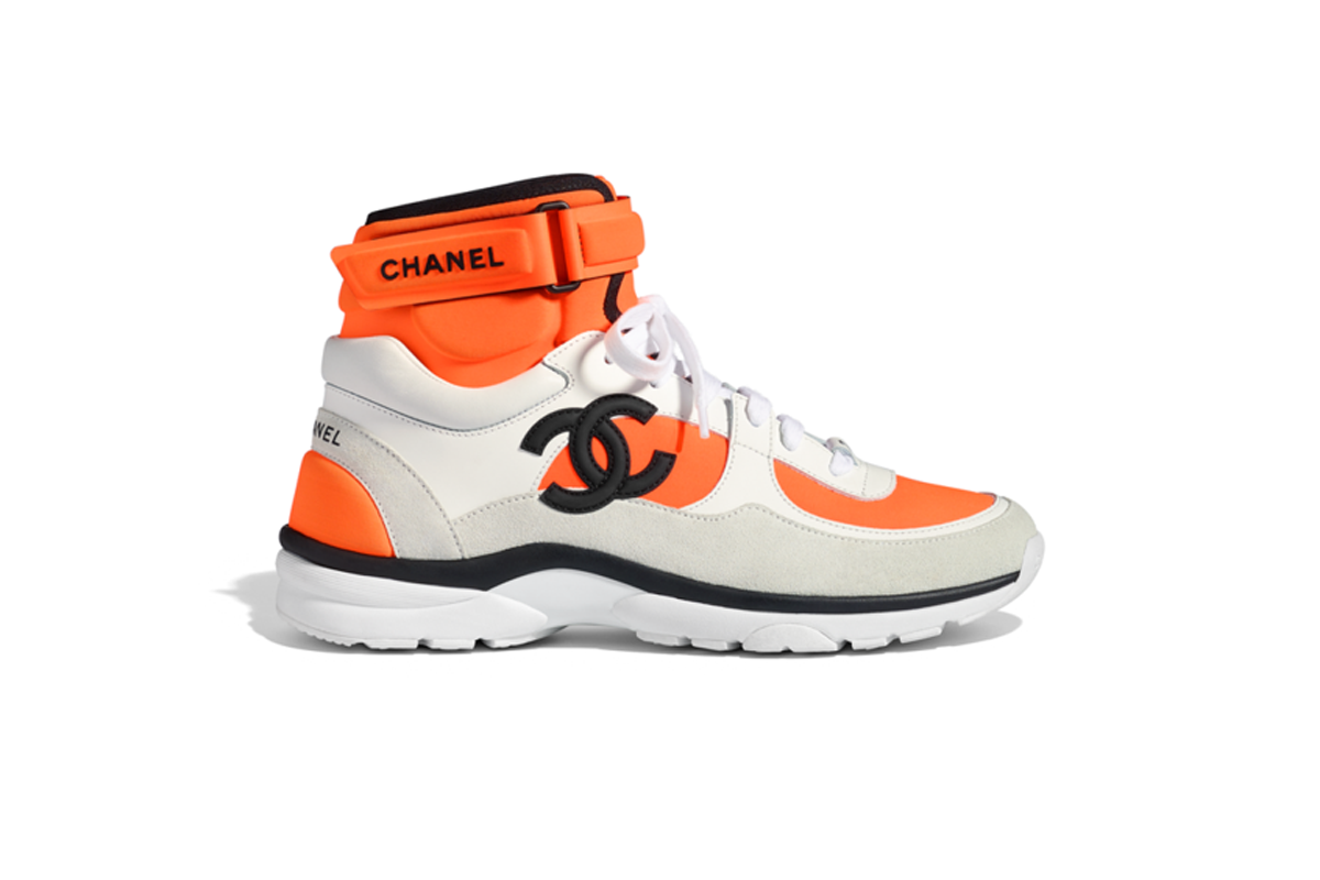 Chanel's New Dad Sneakers Are Gonna Be Big – Literally