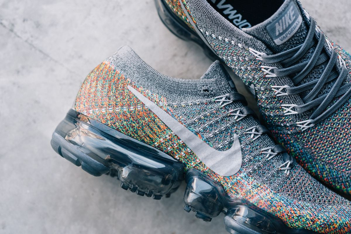 Nike Is Dropping The Rainbow-Flecked Air Vapormax Flyknit Of Our Dreams
