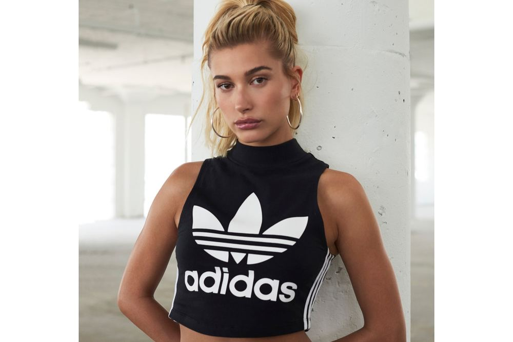 Hailey Baldwin Sizzles In JD Sports X Adidas EQT Campaign