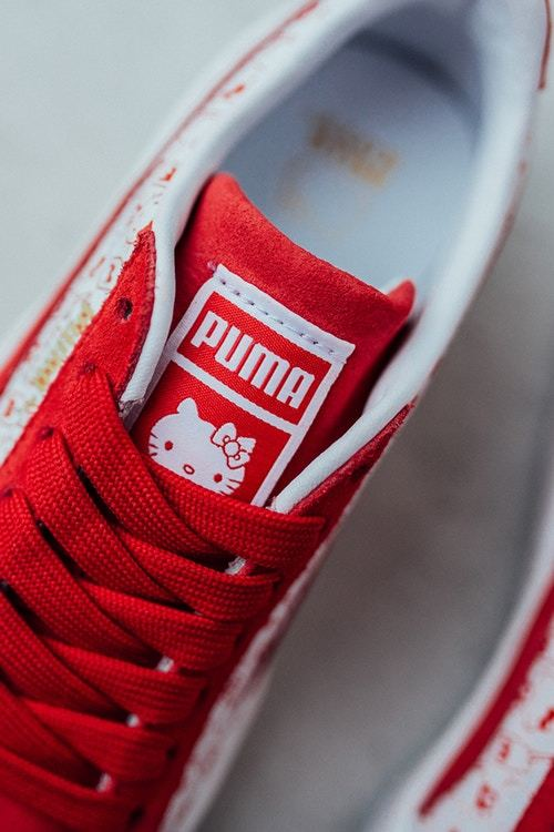 Hello Kitty's PUMA Collab Is Just The Right Shade Of Adorable