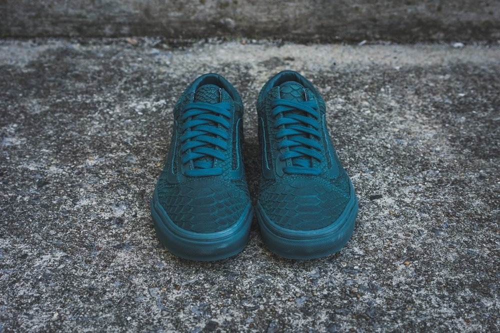 Vans Old Skool Grows An Atlantic Deep Skin