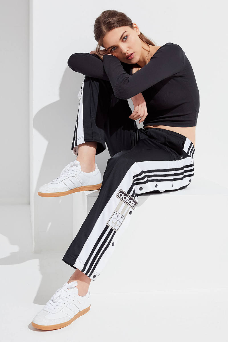Look Black, White And Rad All Over In These Iconic Adibreaks