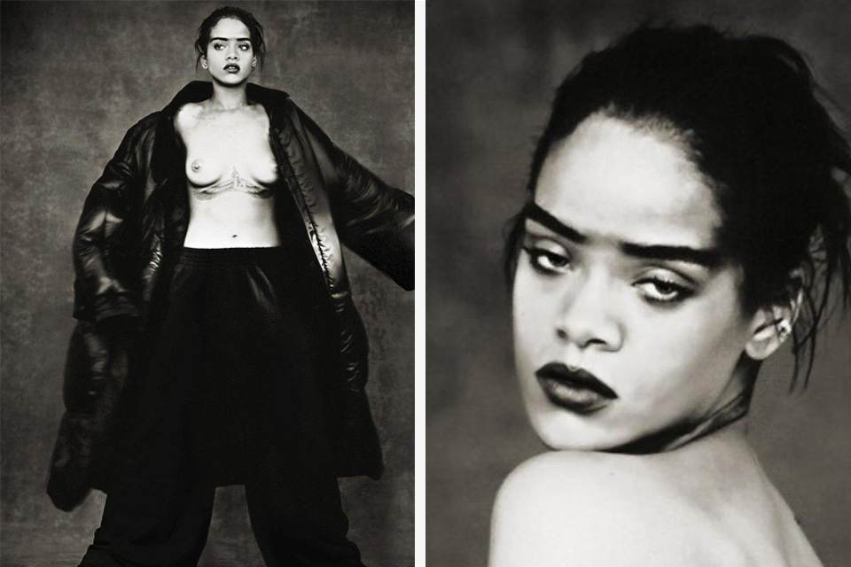 Rihanna Stuns In Never-Before-Seen Photographs By Paolo Roversi