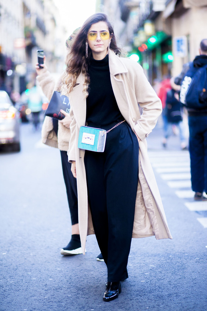 Paris fashion week streetstyle 009