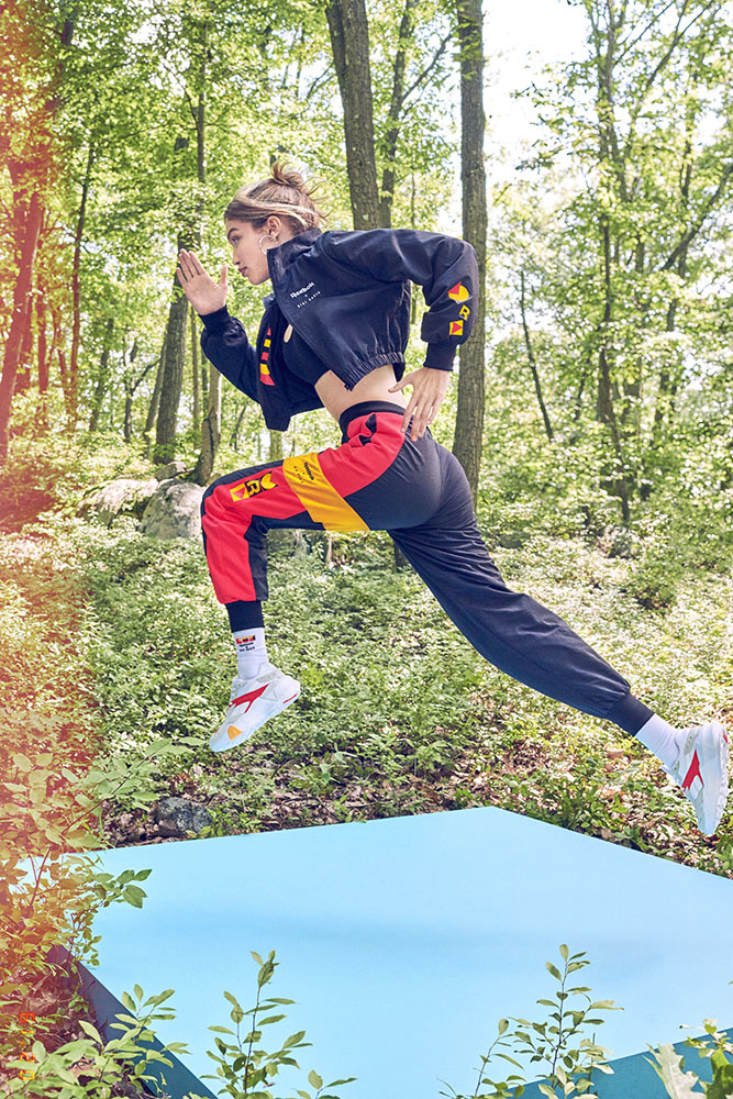 fa5c537ab1a Reebok X Gigi Hadid Present Their SS19 Collection Gigi Hadid and Reebok  take us to their roots with the fitness-oriented SS19 collection