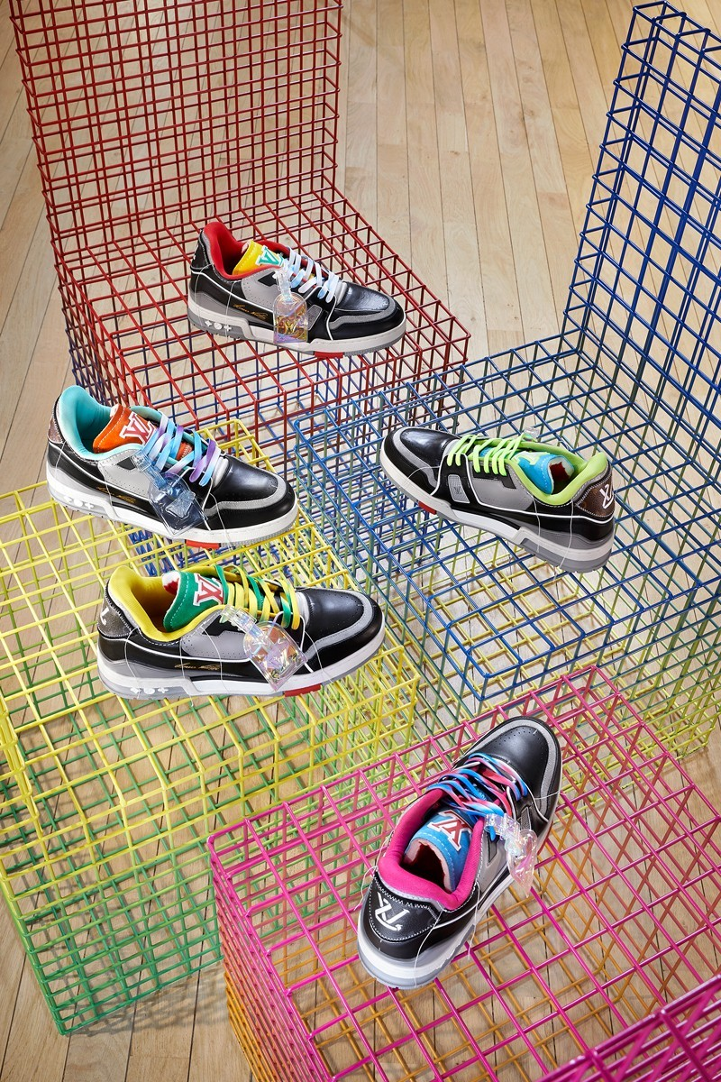 LV's SS21 Sneakers Are Made Out Of… LV Sneakers?