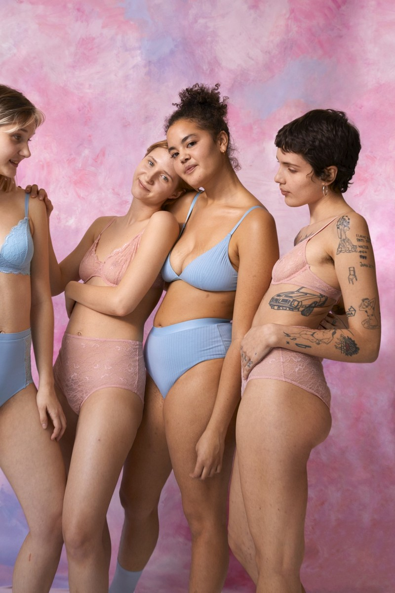 Experience A Sheer Romance With Yourself In Monki's New SS20 Lingerie
