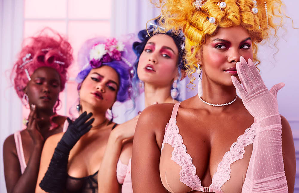 The Sexy SS20 Collection From Savage X Fenty Channels Marie Antoinette