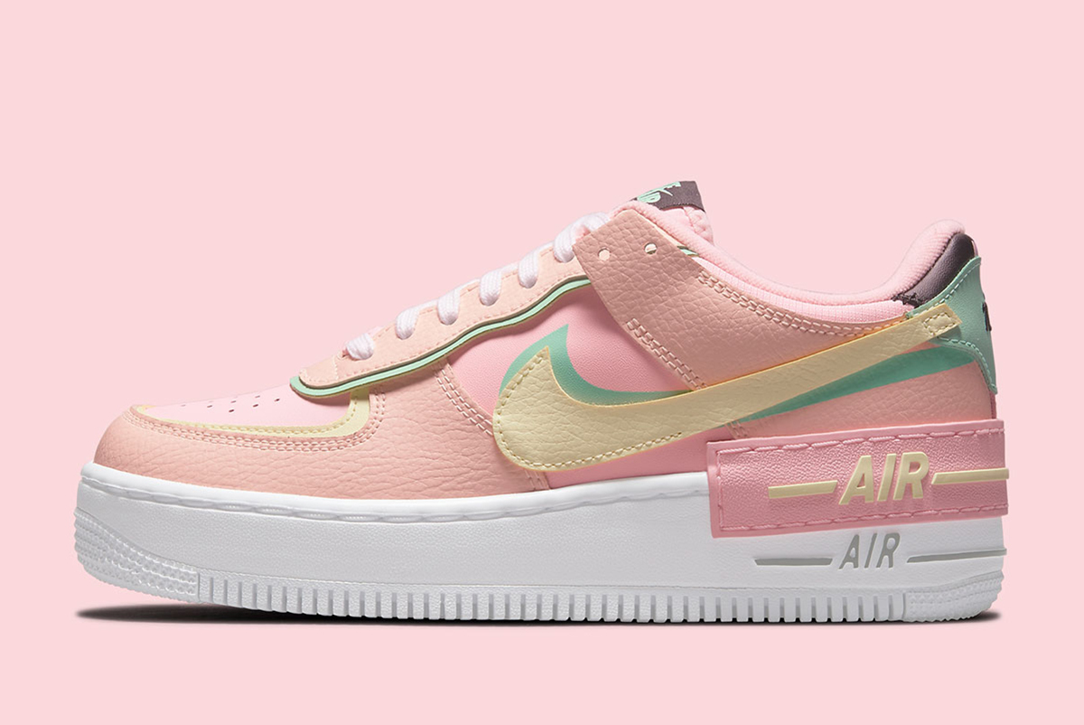 """Arctic Punch"" The Latest Colorway For Nike Air Force 1 Shadow"