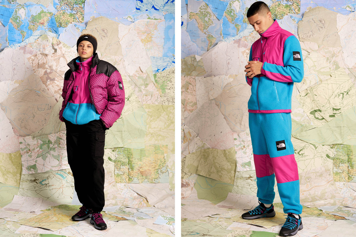 The North Face Drop Back To Trail Collection