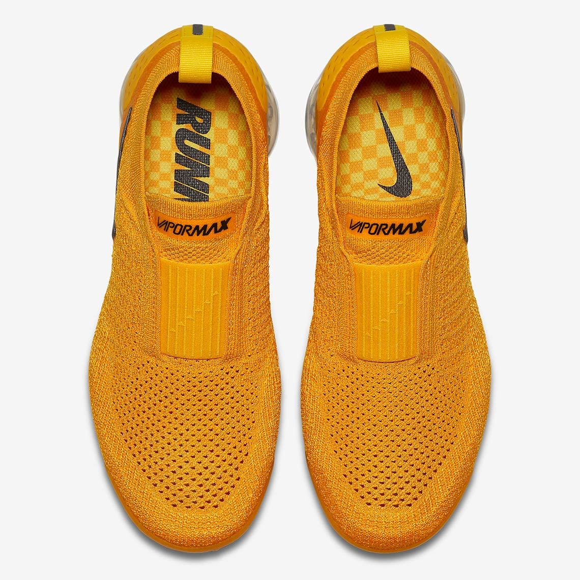 Excel In Sunshine Style In The 'University Gold' Nike Vapormax Mox 2