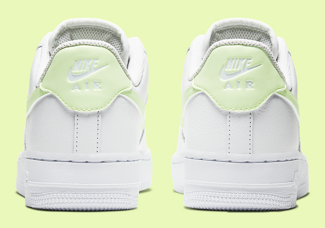 "Nike Adds ""Barely Volt"" Accents To Its Air Force 1 Lows"