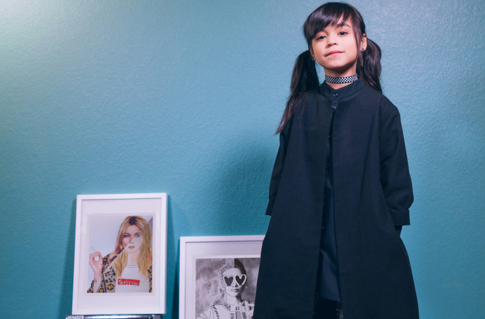 Meet Fashion's 8-Year-Old Cool Kid: A Lil' Artist With Major Style