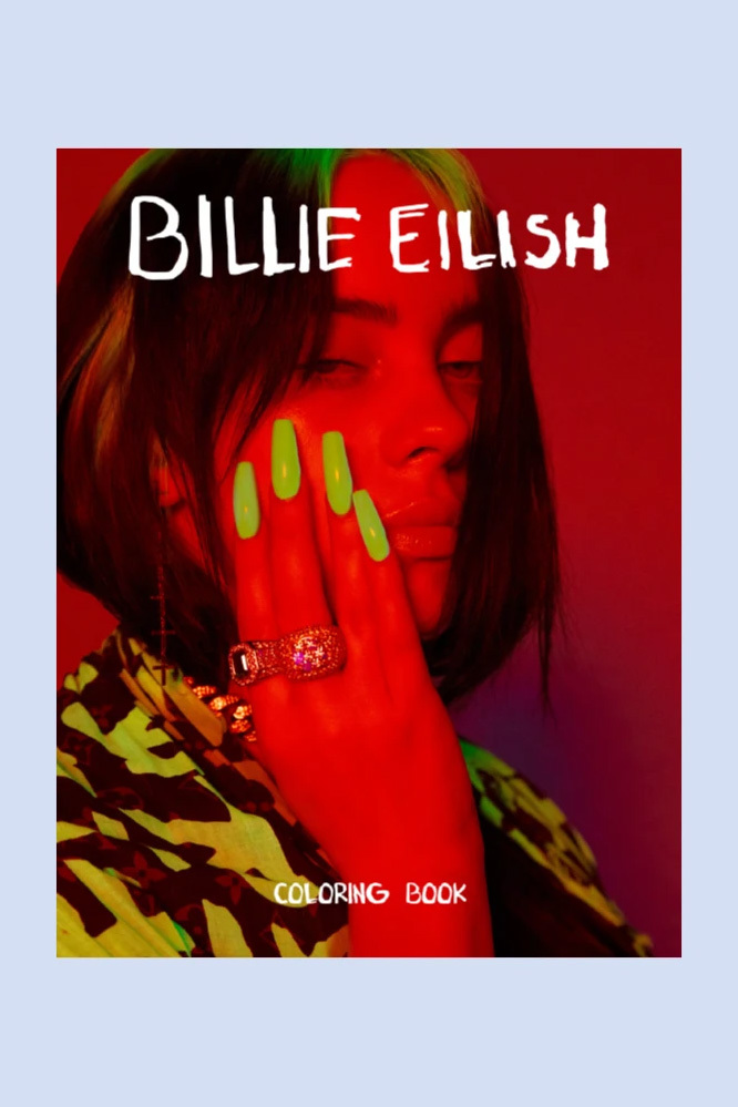 Billie Eilish Launches Her Own Adult Coloring Book