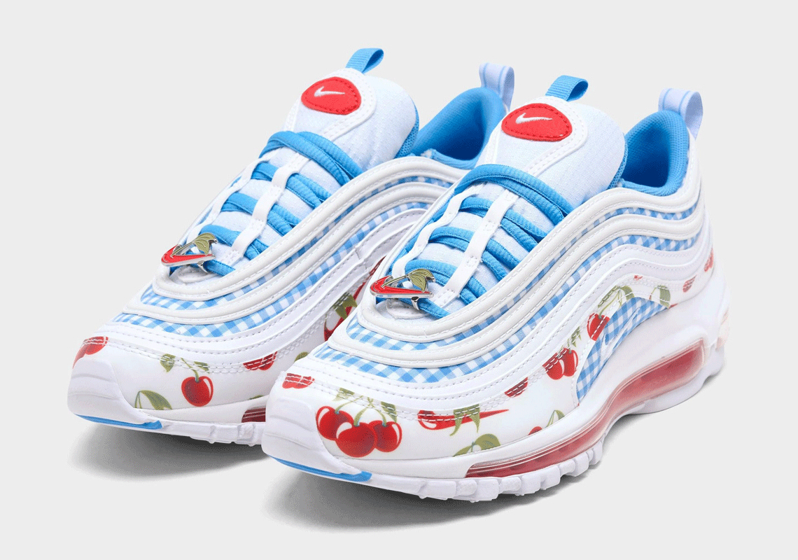 Nike Air Max 97 launch a 'Cherry' Design For Kids Nike release the ...