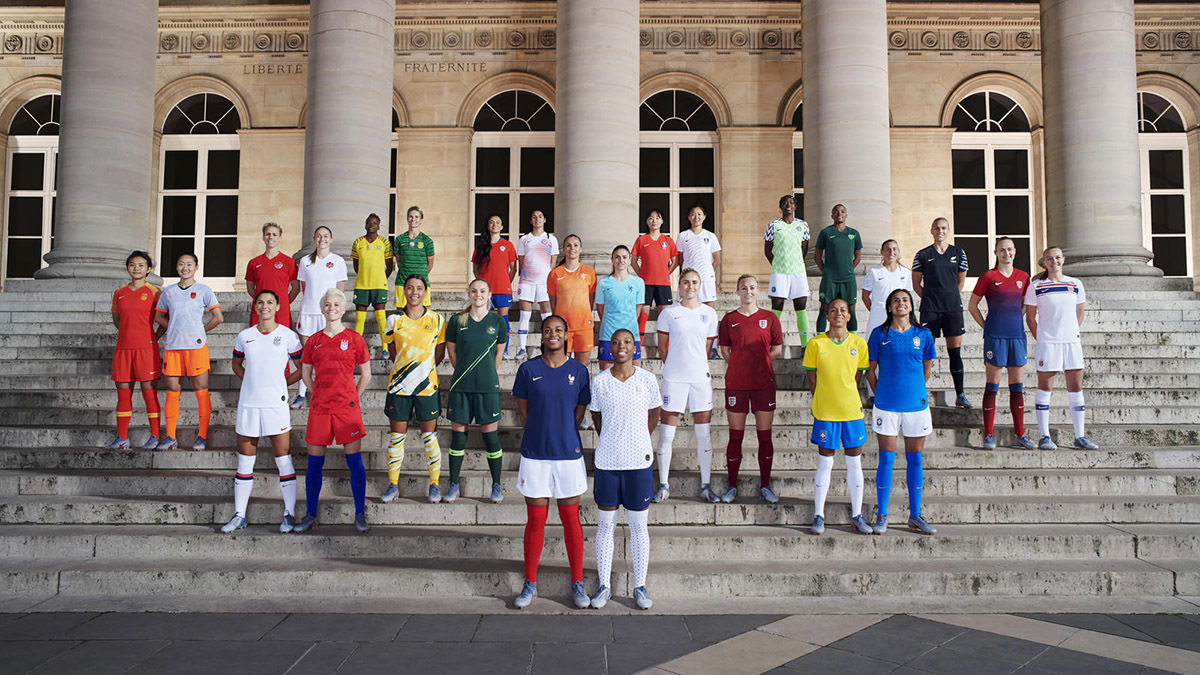 Nike Unveils The 14 National Team Collections For This Summer's Football Tournament In France