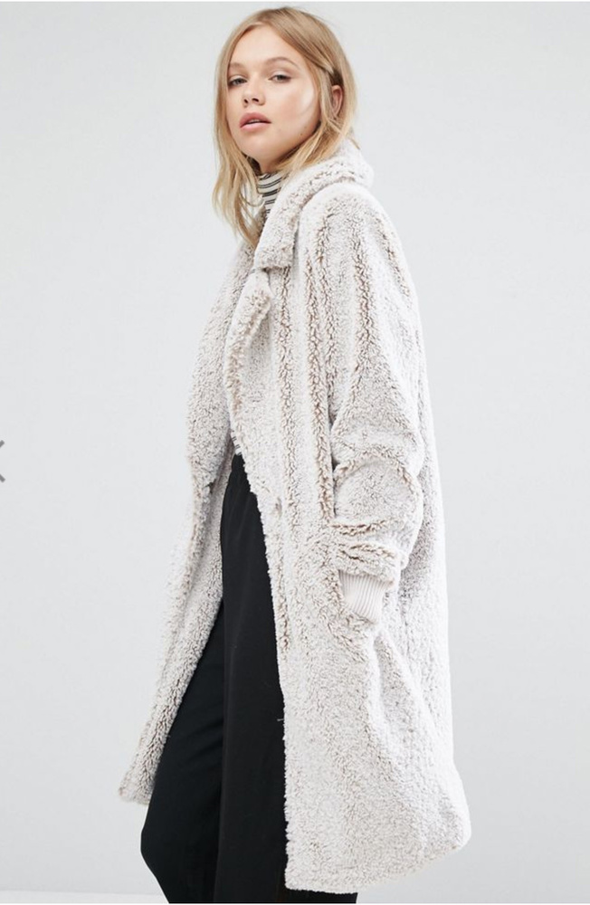Teddy coat winter 2016