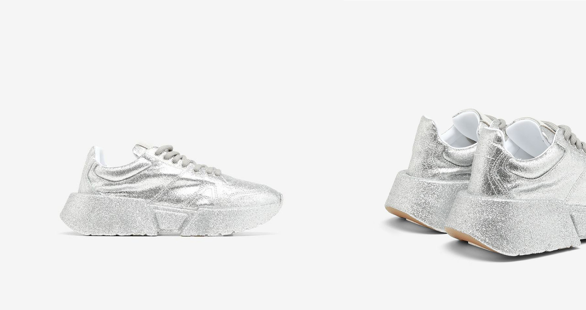 Shine All Day With MM6 Maison Margiela's Latest All-Glitter Sneaker Drop