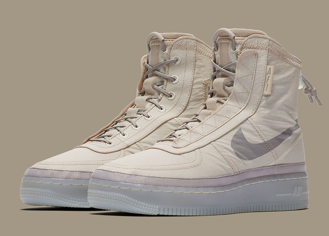 Nike Reinvent The Air Force 1 With New 'Shell' Hybrid
