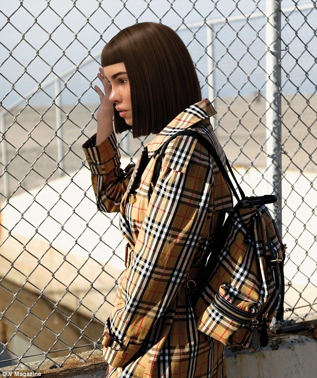 Our Fave CGI Influencer Lil Miquela Goes Logomania In 'V Magazine' Shoot