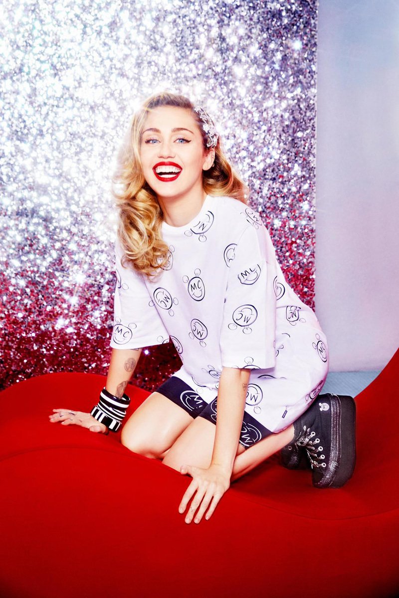 Miley Cyrus' Converse Chuck Taylor Collab Has Just Dropped