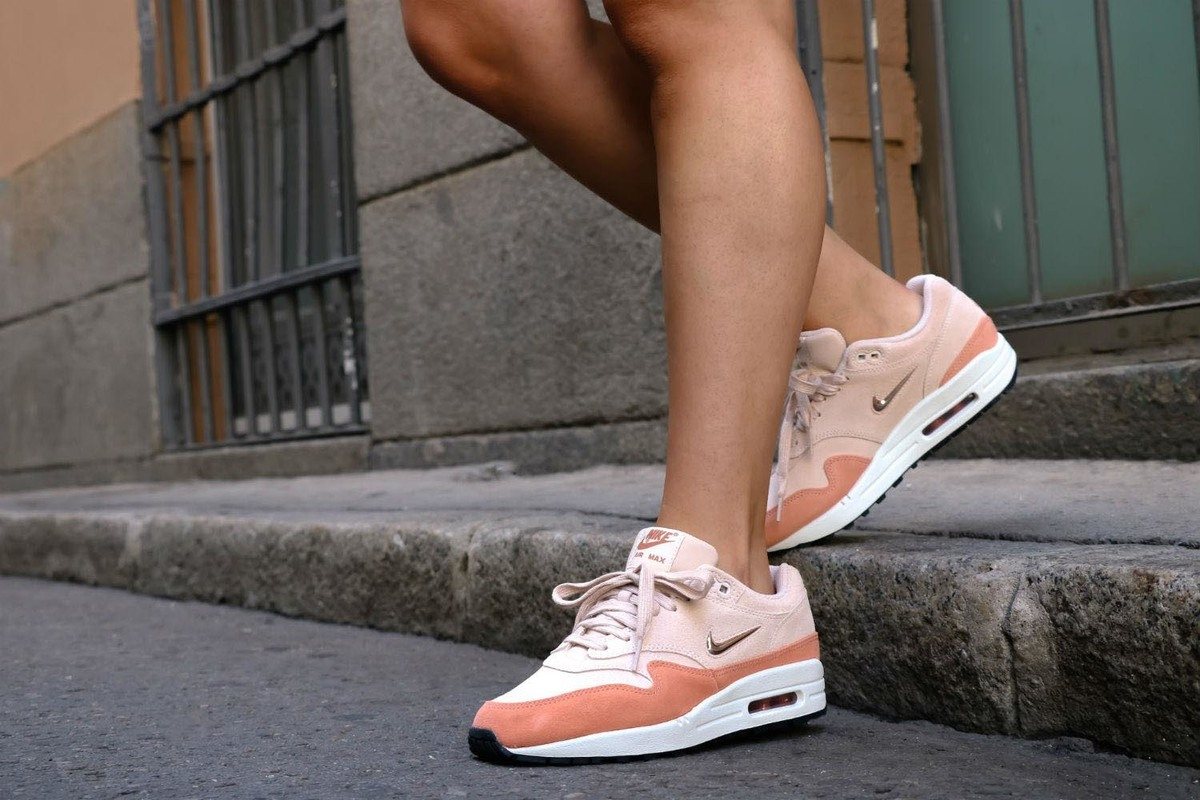 7c3584b954 An On Feet Look at the Nike Women's Air Max 1 Premium SC Guava Ice An On  Feet Look at the Nike Women's Air Max 1 Premium SC Guava Ice