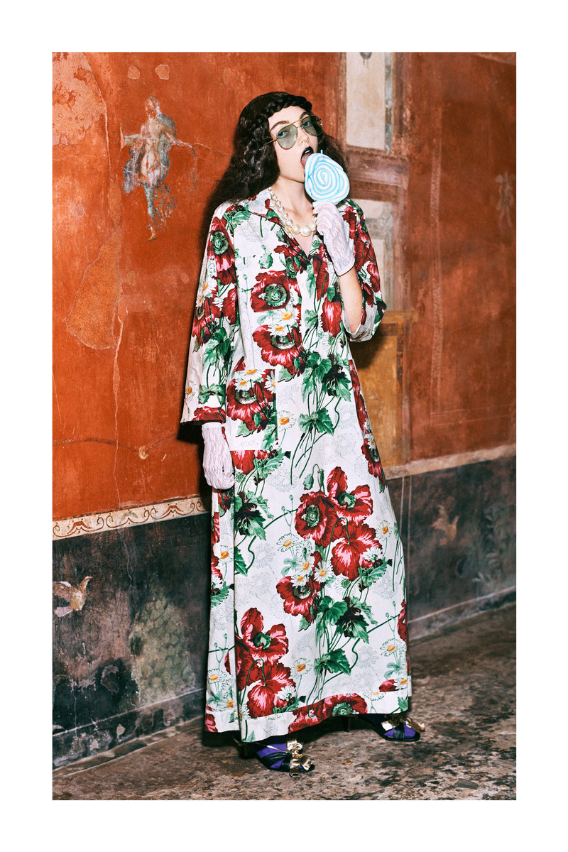 Gucci In Collaboration With Harmony Karine For Its Pre-Fall 2019 Lookbook