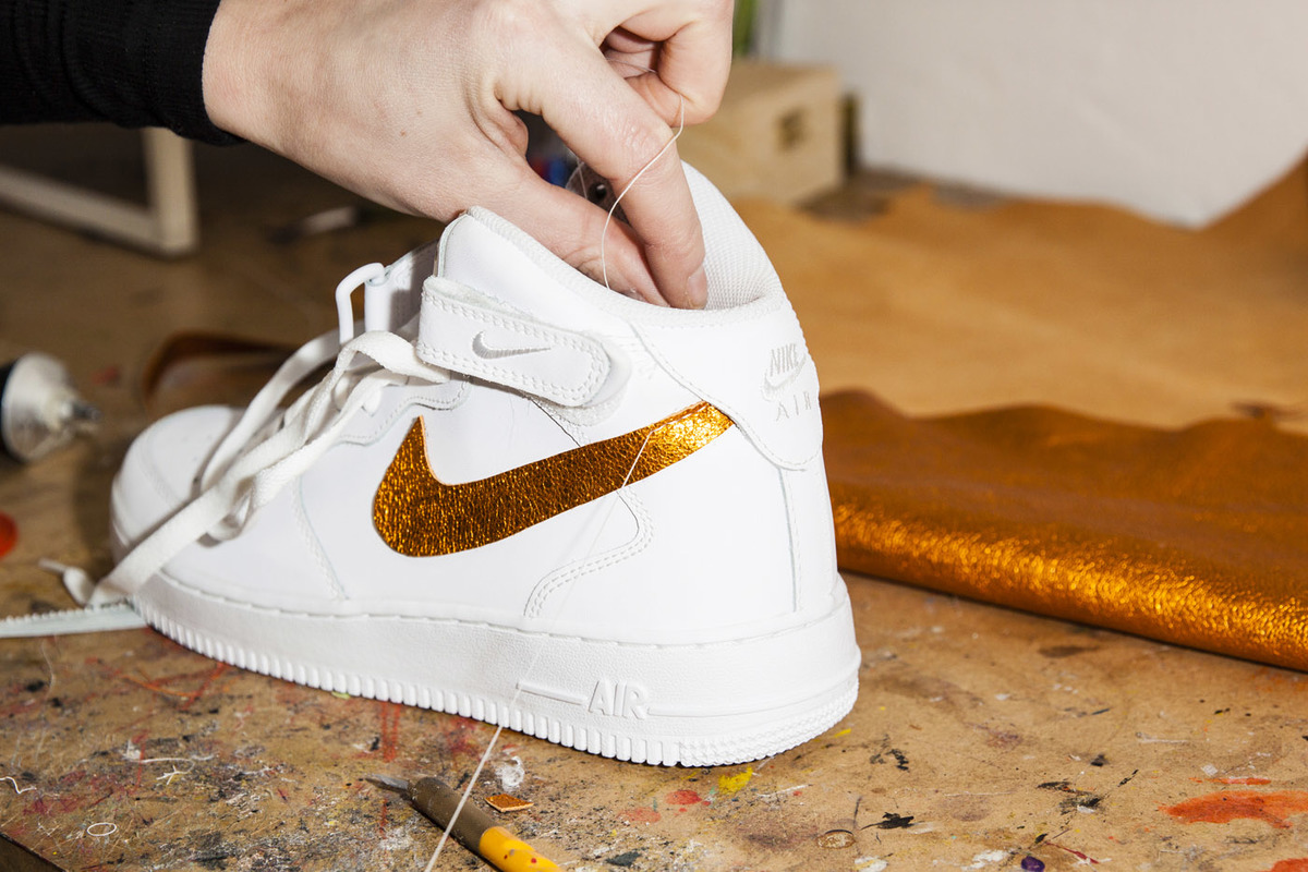 A Studio Visit With The Super-Crafty Customizer Behind SOLESclusive