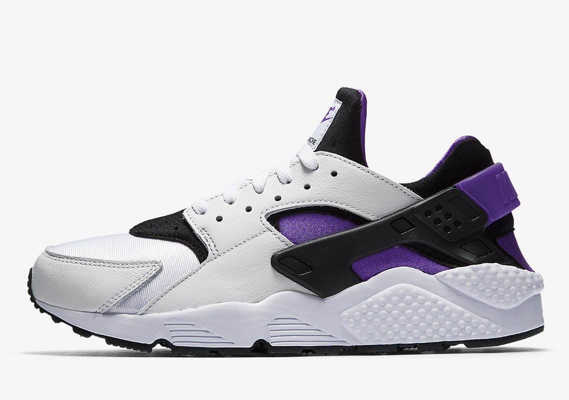 "Nike's OG Streak Continues With 1991's Air Huarache ""Purple Punch"""