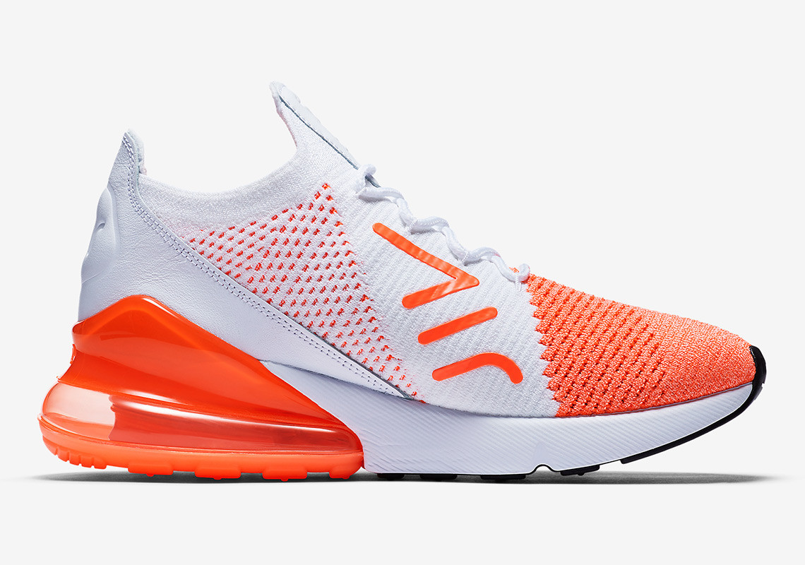 Slip Into Some Spring Zing With Nike's Air Max 270 Flyknit 'Crimson Pulse'